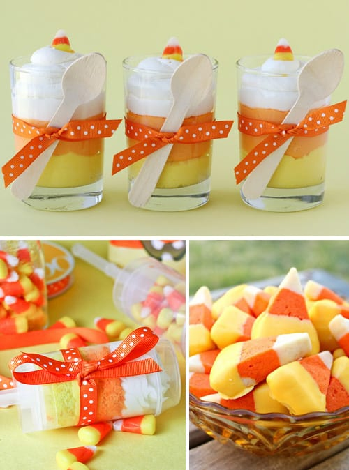 Candy Corn Halloween Treats & Recipes
