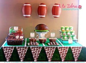 Football Party Dessert Ideas | Living Locurto