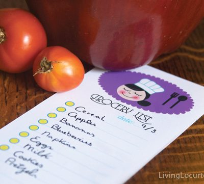 Free Printable Grocery Shopping Lists