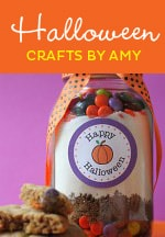 Halloween Craft Ideas & Free Party Printables by Amy Locurto