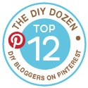 Top 12 DIY Bloggers on Pinterest