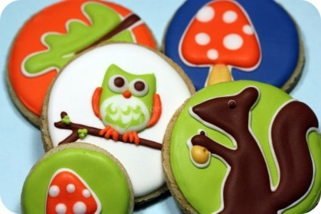 Owl and Autum Decorated Cookies