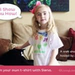 Easy T-Shirt Craft with Fabric Markers {Kids Video}