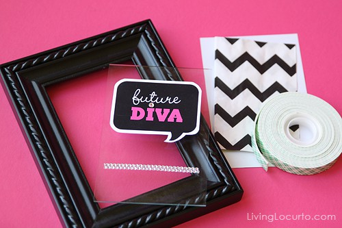 Baby Shower Craft Idea with Party Printables   Living Locurto