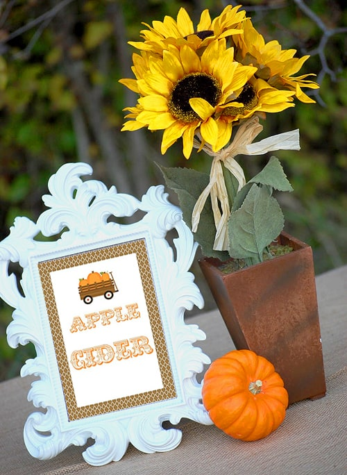 Free Party Printables for Fall