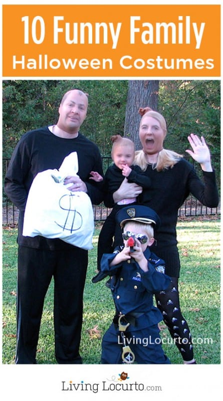 10 Fun Family Themed Halloween Costumes! LivingLocurto.com