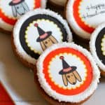 How to Make Cookies with Edible Images {Halloween Party Idea}