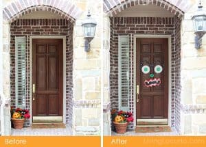 Halloween Door Monster Easy Craft - LivingLocurto.com