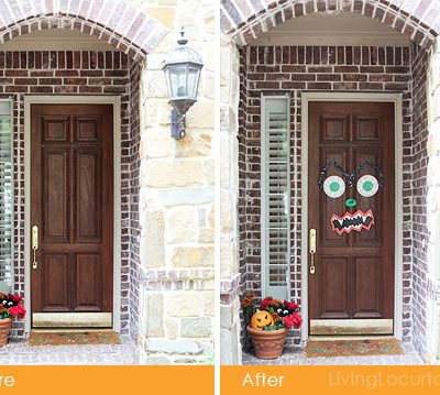 Halloween Monster Door Craft