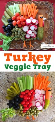 Turkey Vegetable Tray Thanksgiving Veggie Tray Recipe