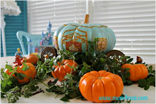 Cinderalla Halloween Pumpkin
