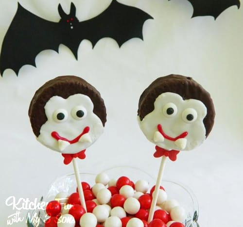 Halloween Fun Food Idea - Ding Dong Dracula