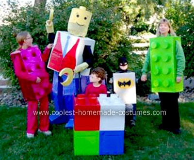Lego Family Halloween Costumes!