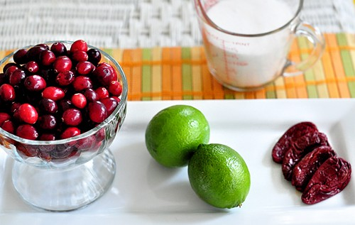 Cranberry Chipotle Lime Sauce
