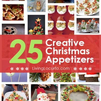 25 Amazing Christmas Party Appetizer Recipes