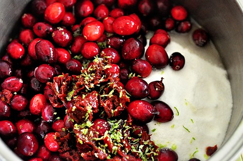 Cranberry Chipotle Lime Sauce | Living Locurto | Thanksgiving