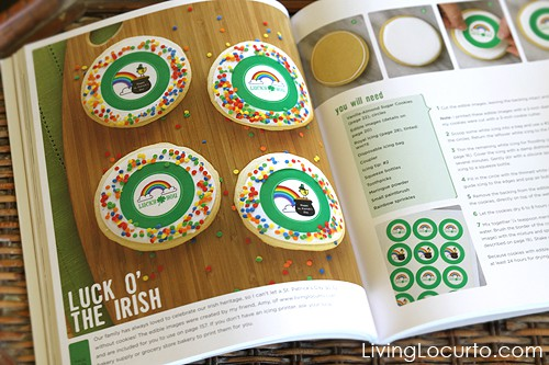 Decorating Cookies by Bridget Edwards - St. Patricks Day Cookies - by Amy Locurto - Living Locurto