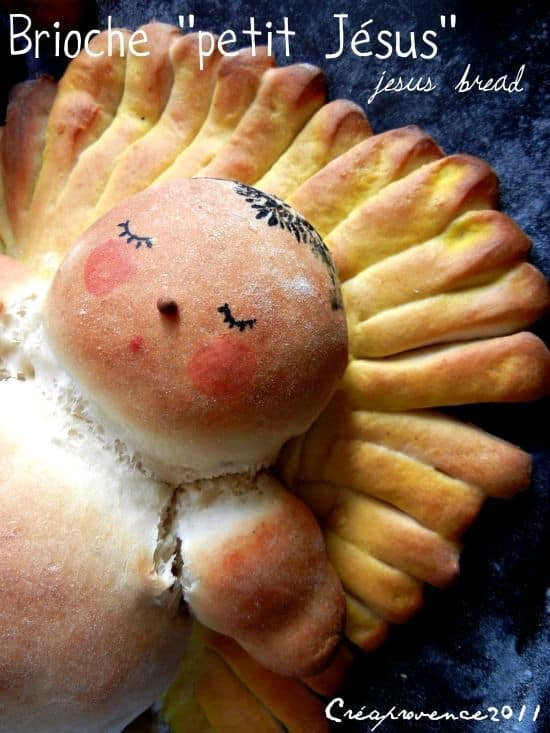 Baby Jesus Bread - 25 Amazing Christmas Party Appetizer Recipes! Fun Food Ideas and more for a Holiday Party. LivingLocurto.com