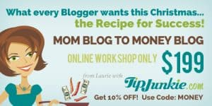 Mom Blog to Money Blog - Online Workshop