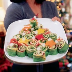 Christmas Tree Wraps - Party Fun Food Ideas - Appetizer Recipe