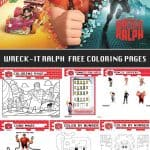 Wreck-It Ralph Free Printable Activity & Coloring Sheets - Disney - Living Locurto Party