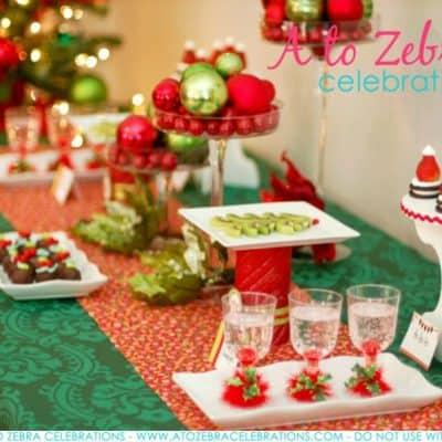 Easy Christmas Party Ideas | Strawberry Santa Hats