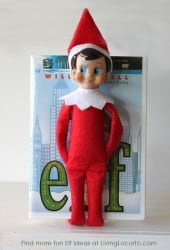 Elf on the Shelf as Elf the Movie | Living Locurto