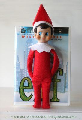 Elf on the Shelf as Elf the Movie | Living Locurto