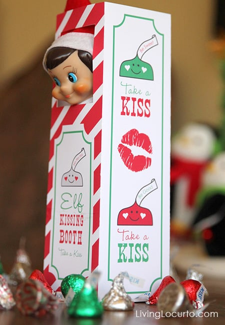 Surprise your kids with a gift from their Elf this Christmas with the original Elf Kissing Booth from the North Pole! Perfect for the magical shelf or any place in your home!