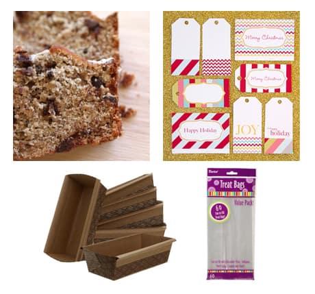 Homemade Bread Holiday Gift Idea