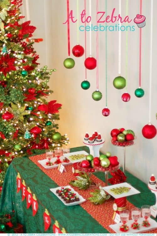 Superb Interesting Christmas Party Ideas Part - 7: Easy Christmas Party Ideas Living Locurto - Ornament Exchange