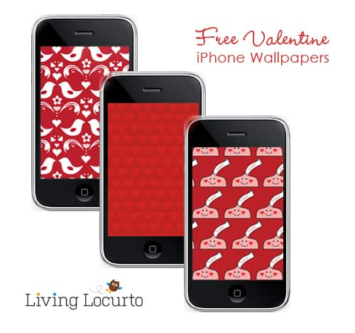 Free Valentine iPhone Wallpaper by Amy Locurto LivingLocurto.com