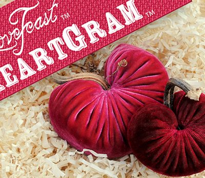The LoveFeast HeartGram Giveaway! ($68 Value)