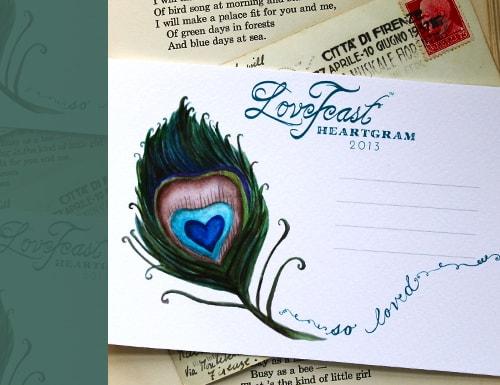 LoveFeast Valentine Card