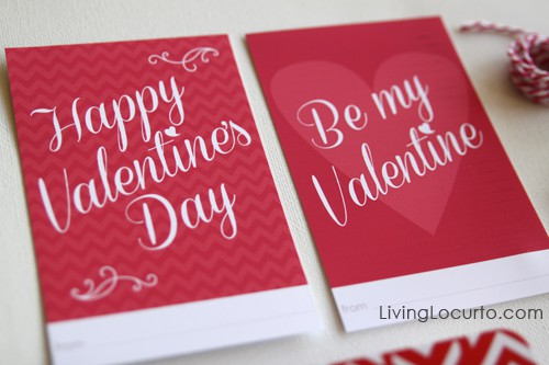 Valentineu0027s Day Free Printables | Living Locurto | Project Life | Valentines  Day Tags