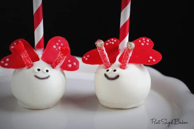 Valentines Day Recipe Idea | Dessert | Love Bug Cake Pops by Pint Sized Baker | Living Locurto