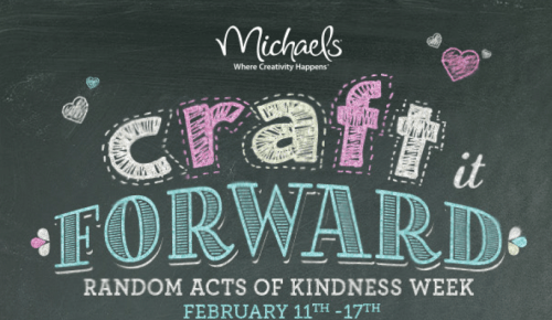Craft it Forward with Michaels!