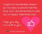 Valentine-Note