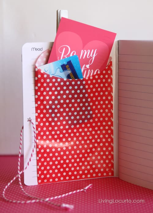 Easy Valentine's Day Gift Idea with Free Printables. DIY Craft  LivingLocurto.com