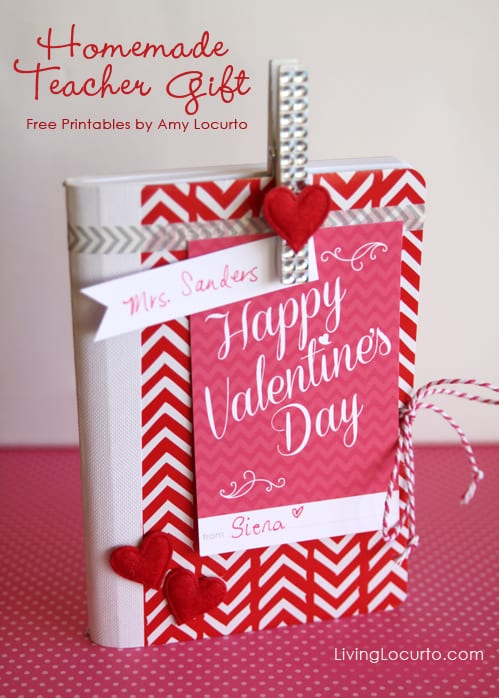 Easy Valentine S Day Gift Idea With Free Printables Diy Craft Livinglocurto