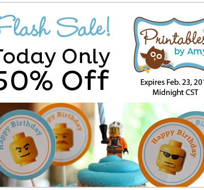 Flash Sale! Birthday Party Printables
