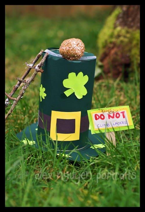 DIY Leprechaun Trap by Alex Nguyen - St. Patricks Day Craft Idea