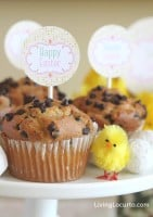 Easy Easter Breakfast Idea {Free Party Printables}