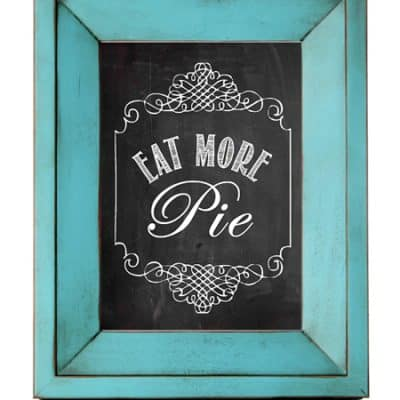 Eat More Pie Wall Art (Free Printable)