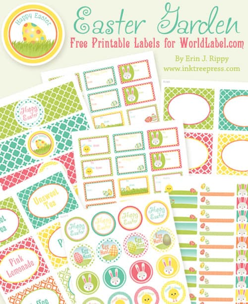 Free Printable Easter Labels