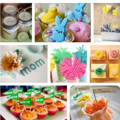 Craft & Party Ideas with Cupcake Liners {Plus More Weekend Links!}