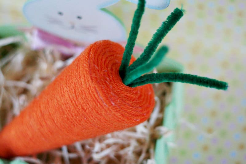 How to Make an #Easter Carrot Craft