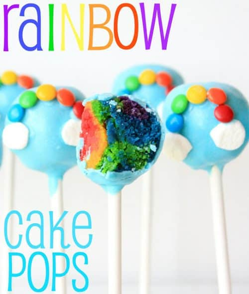 Rainbow Cake Pops by Munchkin Munchies   St. Patricks Day Fun Food Idea   Living Locurto