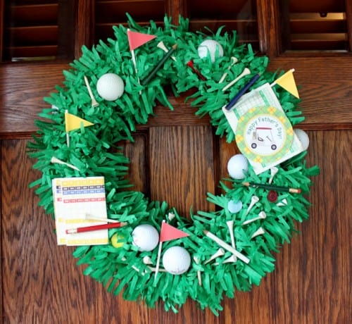 Father's Day Wreath by Crossing the Bugger-Dixon Line | Living Locurto