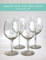 Glitter-Wine-Glass-Craft
